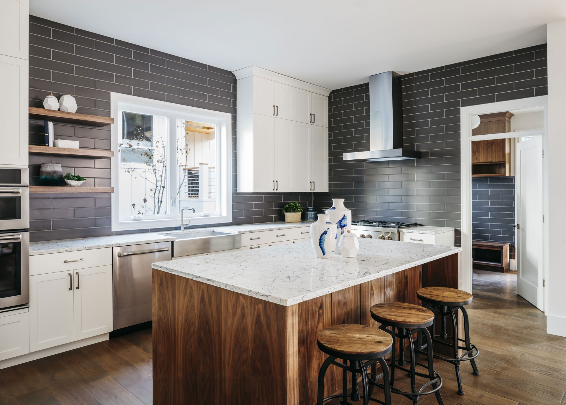 industrial style kitchen remodel